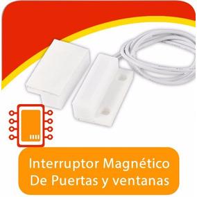 Sensor Interruptor Magnético De Puertas Y Ventanas, Arduino