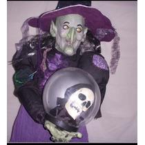 Bruja De Halloween Canta, Baila Y Tiene Luz