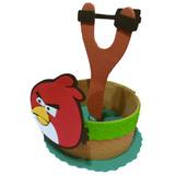 Centro De Mesa Angry Birds, Artesanal