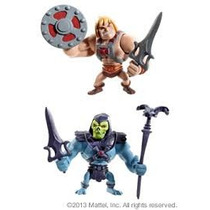 Mattel Motu He Man + Skeletor Mini Figures