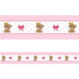 Faixa Decorativa - Ursinha Princesa 20cm - 15mts