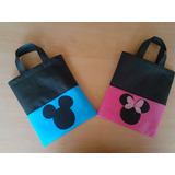 Bolsas-bolsitos Cotillones Para Fiestas Infantiles De Mickey