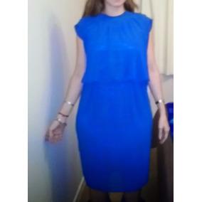 Hermoso Vestido De Gasa Italiano Para Mujer