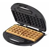 Máquina De Waffles Antiaderente Black Decker Wf780 700w 127v