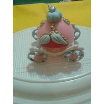 Carroza De Princesas Realizada En Porcelana Fria ,por 10