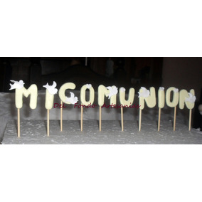 Miniaturas Apliques Porcelana Fria Letras/carteles