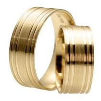 Garantia Eterna,alianças Cor De Ouro , Moeda Antiga, Par 8mm