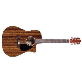 Violão Fender Dreadnought Eletroacústico Cd-60 Ce Com Case
