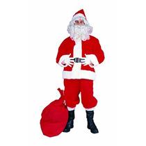 Disfraz Más-tamaño De Santa Claus Traje Rg Trajes De Hombre