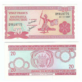 Burundi - Billete 20 Francos 2007 - Unc - Oferta!!