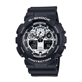 Relógio Casio Masculino G-shock Ga-100bw-1adr Nota Fiscal