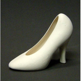 Zapato De Bailarina De Cerámica Varios Tamaños Souvenir
