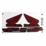 Kit Jogo Adesivo Faixa Moto 125 Fan Es 2012 12 Preta 1039