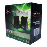 Caixa De Som Estéreo Integris 1 Para Computador E Notebook
