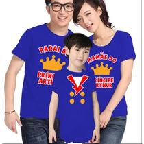 Lembrança De Aniversario Pequeno Príncipe Camisetas Kit C/ 3