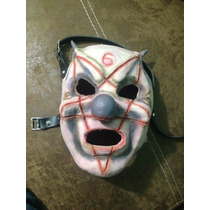 Mascara Clown Slipknot Latex Envio Gratis Mayoreo 20 Piezas