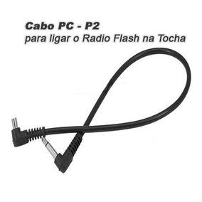 Cabo Sincronismo, Pc - P2 Para Flash, Radio Flash