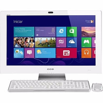 Desktop Pc All In One D40-30tv Dual Core 4gb Hd 500gb Led 24