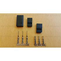 Conector Plug De Servo Futaba Ou Jr 1 Set Completo (1 Par)