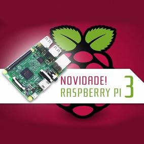 Novo Raspberry Pi3 Pi 3 Model B Quadcore 1.2ghz Loja Fisica