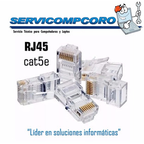 Conector Rj45 Catg 5e [svcc]