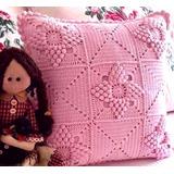 Almohadones Crochet, Manteles, Carpetas, Cortinas, Puntillas