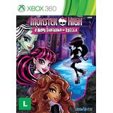 Monster High: O Novo Fantasma Da Escola - Xbox 360 Novo