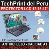 Micas Protectoras De Pantalla Notebook Laptop Lcd 12 15 17