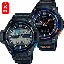 Reloj Caballero Casio Outgear Sgw450 - Altímetro - Cfmx