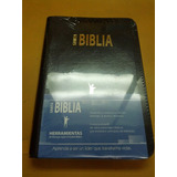 Biblia Del Lider Reina Valera 1960 Piel Forro Con Cierre