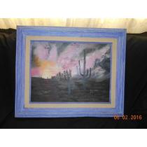 Pintura Al Óleo Tema Desertico