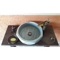 Cuba Pia Importada Luxo Banheiro Lavabo Pedra Natural