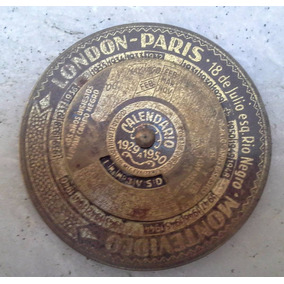 Calendario London Paris Almanaque Lata Megusta_melollevo
