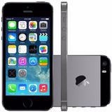 Iphone 5s 16gb Cinza Espacial Apple 4g Nfe Original Seminovo