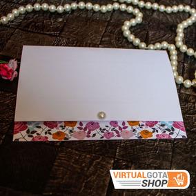 Convites De Casamento Baratos S/ Envelope, Simples E Bonito