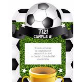 Kit Imprimible Futbol Pelota Trofeo Candy Bar Golosinas