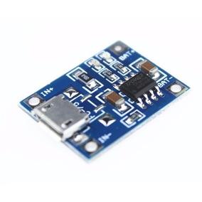 Tp4056 Micro Usb Carregador Bateria Litio 1a 5v Lithium