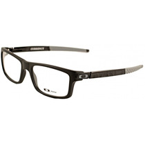 Lentes Armazón Oftalmico Oakley Currency Black 100% Genuine