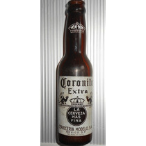 Rara Vieja Botella Avacia De Cerveza Corona Coronita 1950s