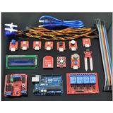 Kit Arduino Uno R3 Desarrollo Casa Inteligente En Caja