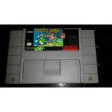 Super Nintendo Yoshis Safari Juego