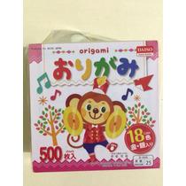 Papel Origami 7.5x7.5 Cm 500 Hojas 18 Colores Original Japon