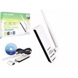 Tarjeta Usb Wifi Alta Ganancia 150mbps Tl-wn722n Win Y Mac