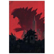 Godzilla (70x50cms)