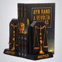 Aparador De Livros Justiça - Escultura Decoração Enfeite
