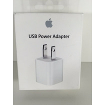 Cubo Adaptador Cargador Pared Original Iphone Envio Gratis