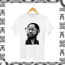 Camiseta Emicida - Rap Nacional - Hip Hop - Mcs - Rinha Mcs-