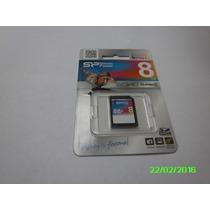 Memoria Sd Hc Silicon Power 8 Gb Clase 4 Nueva