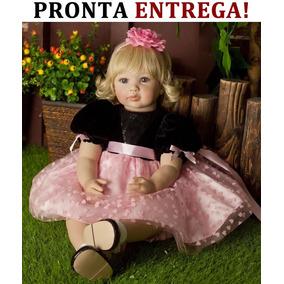 Pronta Entrega Bebe Reborn Brinquedos Boneca Adora Doll