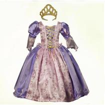 Vestido Rapunzel Princesa Envío E Invitaciones Gratis